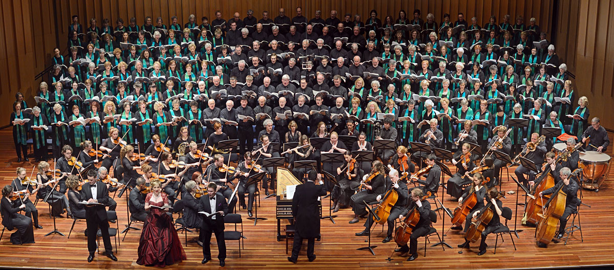 Haydn's Creation at Llewellyn Hall, 1 December 2012 [Photo by Peter Hislop]