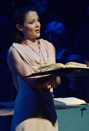 Greta Bradman as Theodora. Photo by Peter Hislop